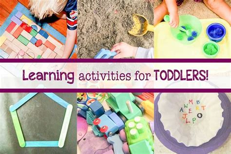 hands on learning activities for preschoolers 14 easy amp learning activities for toddlers at home 188