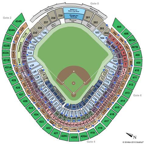 yankee stadium bronx ny seating chart stage