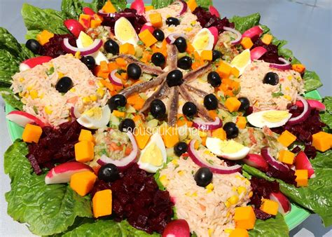 cuisine marocaine salad recipe recette de salade سلطة مغربية cuisine