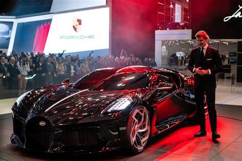 Bugatti's La Voiture Noire Becomes the Most Expensive New ...