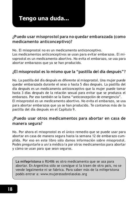 Cytotec Uso Correcto Manual Aborto Con Pastillas Argentina