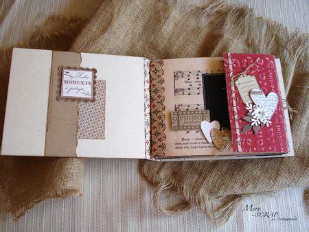 le rubriche  scrappando mini album jd ensemble scrappando carta ricordi
