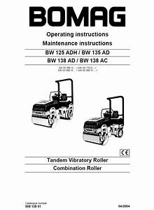 Bomag 138ad Roller Wiring Diagram