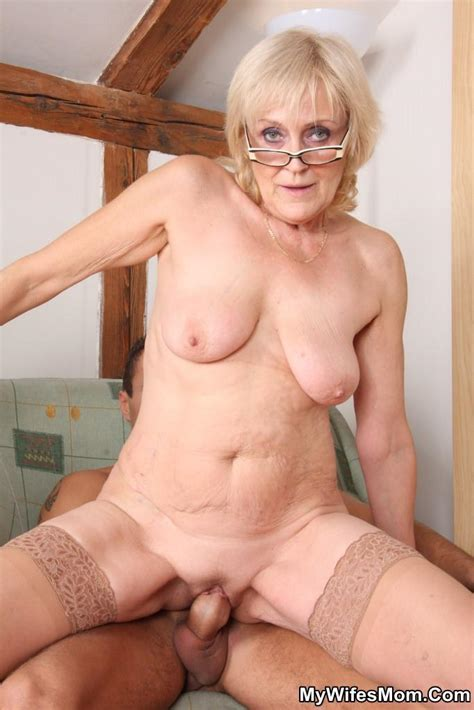Dirty Mature Blonde In Glasses Swallows Her Xxx Dessert