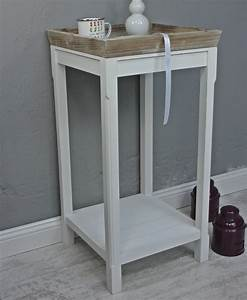 Babybett Holz Weiß : beistelltisch braun wei hoch ~ Whattoseeinmadrid.com Haus und Dekorationen