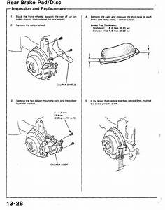 Civic Crx Scarebird Rear Brake Disk Conversion Review And Instructions - Honda-tech