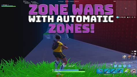 zone wars  automated moving zones fortnite battle