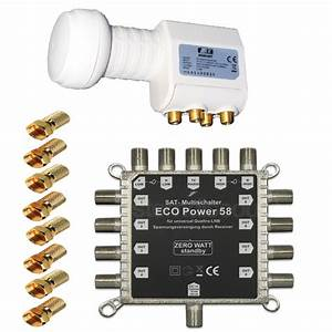 Quattro Lnb Multischalter : multischalter 5 8 chess fullhd 3d multiswitch opticum ~ Watch28wear.com Haus und Dekorationen