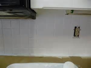 Painting Over Kitchen Tile Backsplash
