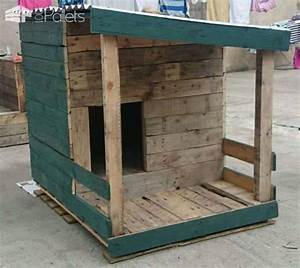 pallet dog house build your own o 1001 pallets With how to build a dog house out of pallets