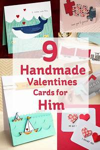 9 Handmade Valentines Cards for Him | Ideas for valentines ...