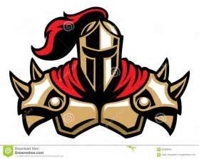 Knight Warrior Mascot Clip Art