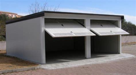 prezzi box auto box auto prefabbricati in lamiera zincata o coibentati