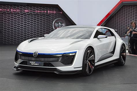 Volkswagen Golf Gte Sport Concept Car Body Design