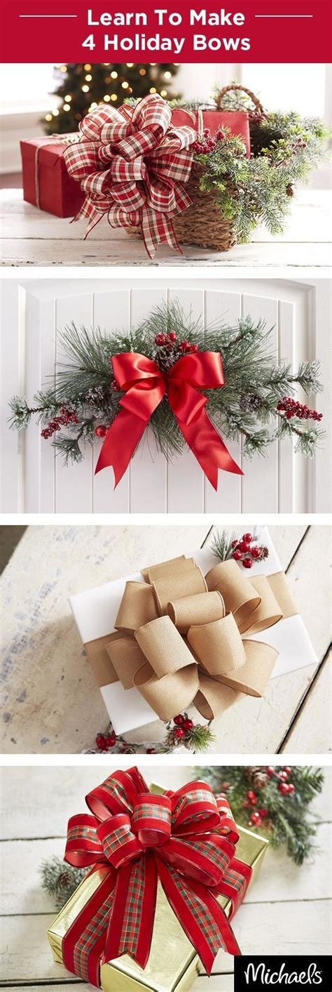 Learn To Make Holiday Bows That Make Your Presents And