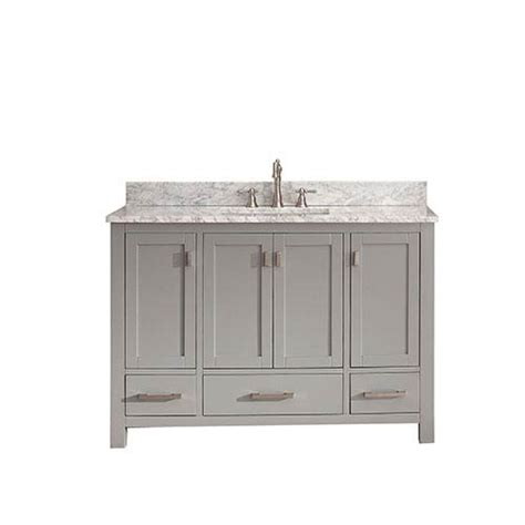 48 inch white bathroom vanity without top modero chilled gray 48 inch vanity combo with white