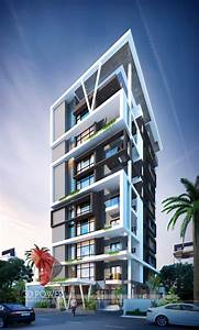 3d Rendering Of Highrise Apartment