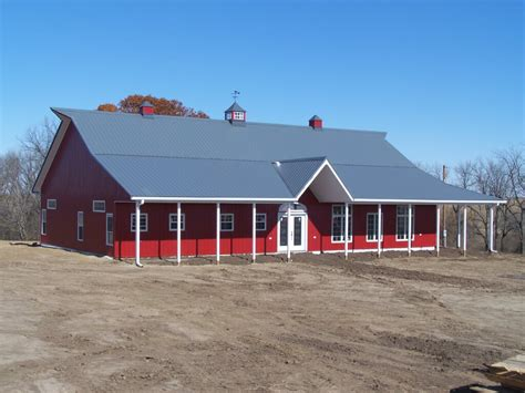 Pole Barn Styles by Building A Pole Barn Homes Kits Cost Floor Plans Designs