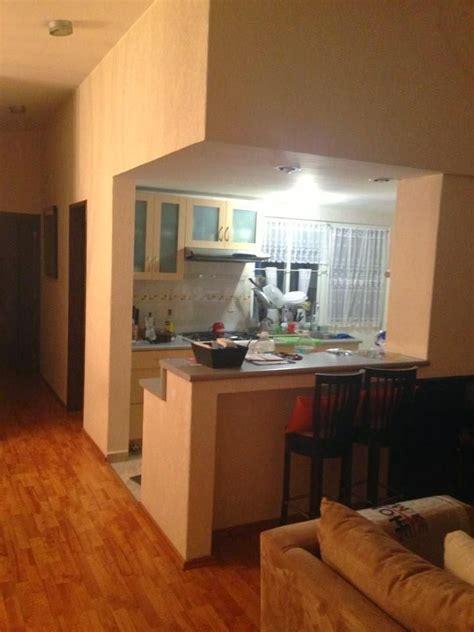 ideas  zonas de cocina abiertas al salon decorar tu