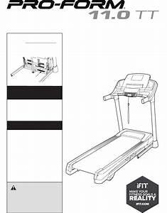 Proform Ifit Treadmill Manual