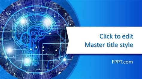 For Free by Free Machine Learning Powerpoint Template Free