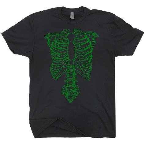 Skeleton Shirt Spinal Tap Vintage T Shirt Retro Green Skeleton T Shirt