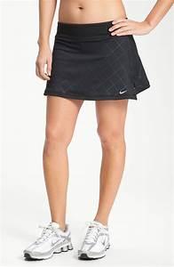 Nike Print Tennis Skirt in Black | Lyst