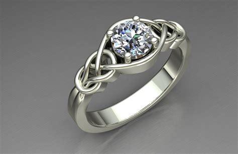 3d printed engagement ring by joyas3d pinshape