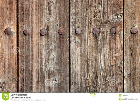 Weathered Wooden Fence Texture Stock Image
