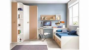 Armoire D Angle Chambre : chambre enfant originale avec une armoire d 39 angle glicerio so nuit ~ Melissatoandfro.com Idées de Décoration