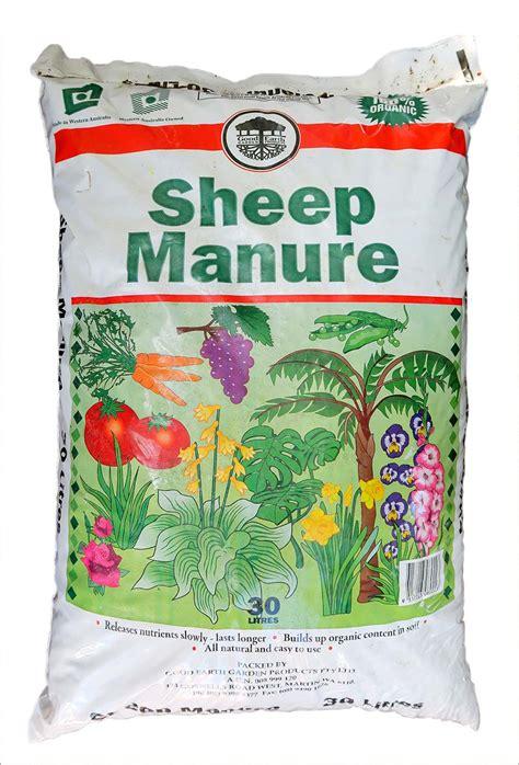 sheep manure perth wa  garden centre