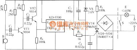 Voice Activated Delayed Light Switch Circuit Basic