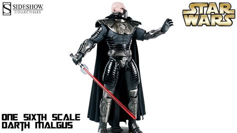 Video Review of the Sideshow Collectibles: Darth Malgus ...