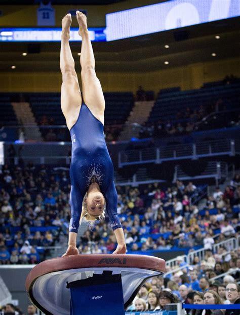 gallery ucla gymnastics flies  victory  stanford