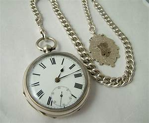 Antiques Atlas - Antique English Silver Pocket Watch ...