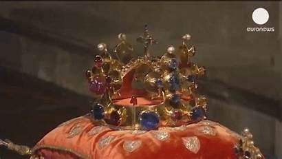 Crown Jewels Bohemian Pearls Scepter Orb Jeweller