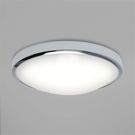 astro lighting  osaka chrome led bathroom ceiling light