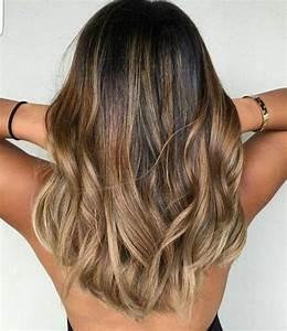 Hellbraune Haare Mit Blonden Strähnen : 1001 ideen wie sie ombre hair selber machen ~ Frokenaadalensverden.com Haus und Dekorationen