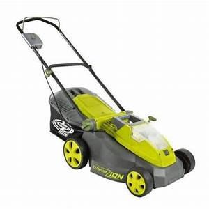 Sun Joe Ion16lm 40v 16 U0026quot  Cordless  U0026 Brushless Electric Lawn