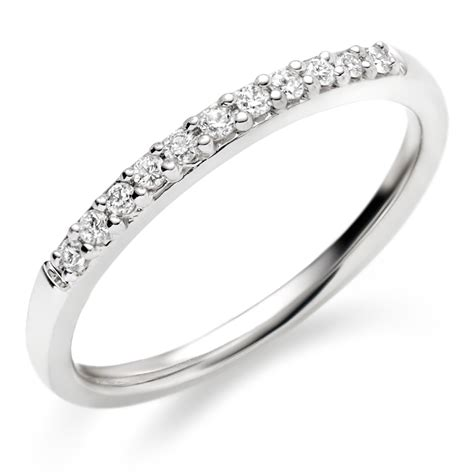 18ct white gold diamond wedding ring 0005107 beaverbrooks the jewellers