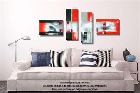 canapé bois et chiffon prix tableau gris noir en plusieurs panneaux dessins
