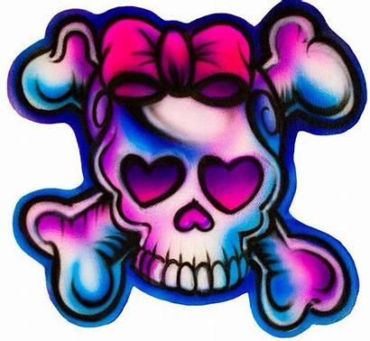 Skull Skulls Tattoos Girly Sugar Tattoo Flash