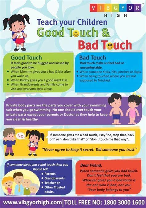vibgyor high  good touch bad touch parenting