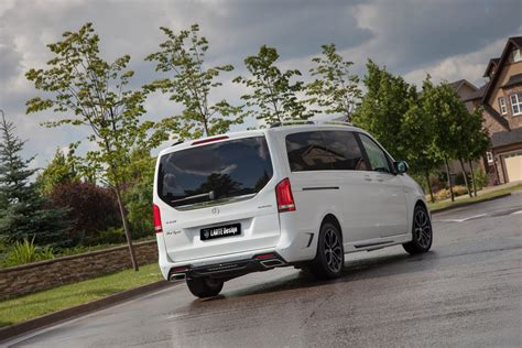 Mercedes Benz V Class Black Crystal By Larte Design In White