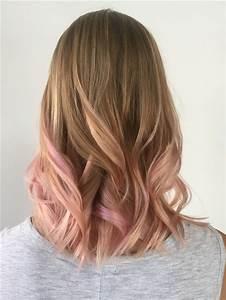 Balayage Pastel Pink