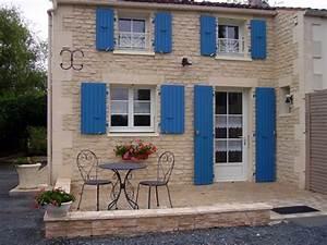 La Maison Du Volet : les volets bleus location de vacances dans le marais poitevin ~ Melissatoandfro.com Idées de Décoration
