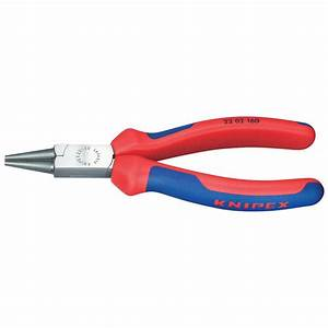 KNIPEX 6 in. Round Nose Pliers with Comfort Grip Handles ...