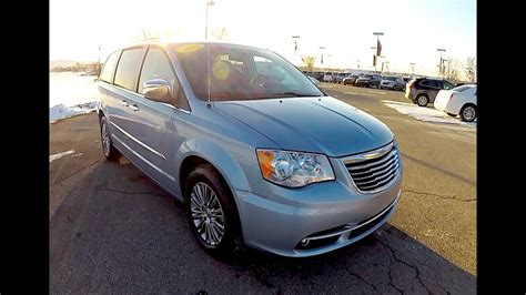 chrysler town country touring la youtube