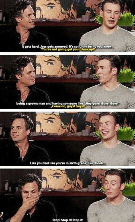 I'm convinced there all children lol | Chris evans funny ...