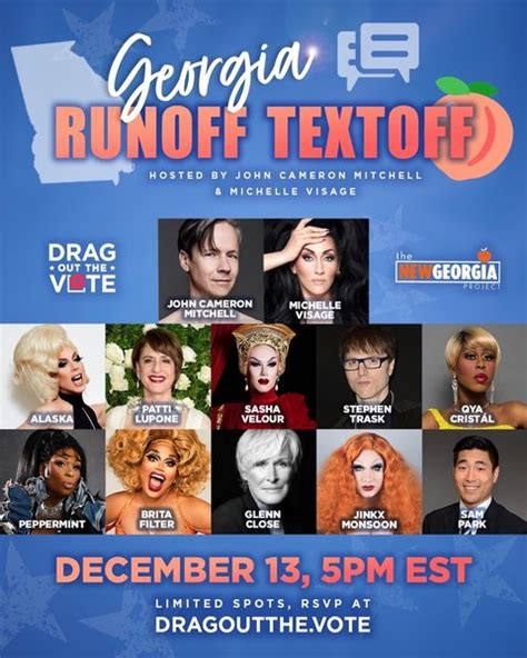 John Cameron Mitchell and Michelle Visage Drag Out the ...
